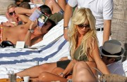 Victoria Silvstedt Bikini in St. Barth's Jan 7th x 5