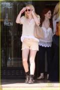 Dakota Fanning @ Barneys New York in Beverly Hills, March 18, 2011
