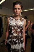 Алехандра Алонсо, фото 11. Alejandra Alonso Dolce & Gabbana S/S 2011, photo 11