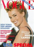 Jessica Lange -  Magazine Covers and Scans x4