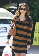 Jordana Brewster - running errands in Los Angeles 01/09/'11