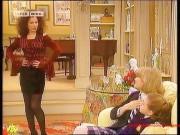 Fran Drescher---legs--dark Nylons--sexy--1994--Retro--The Nanny