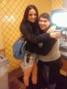 JoJo Levesque With a Fan in Texas on December 8, 2011